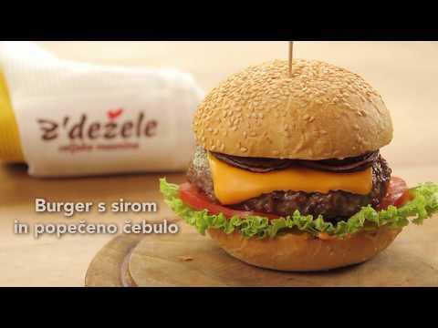 Goveji burger z´dežele z angusom