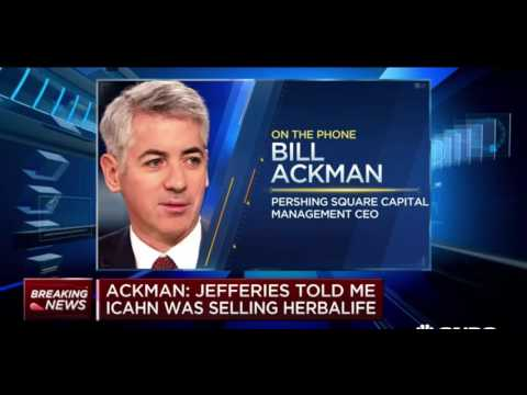 Bill Ackman Discusses Buying Carl Icahn