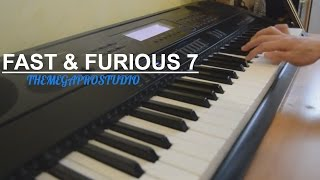 Музыка на синтезаторе из фильма форсаж 7 Music synthesizer  Furious 7