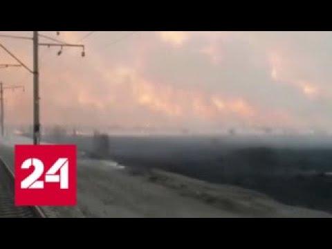 На Дальнем Востоке из-за пожаров возросло количество обращений в больницы - Россия 24