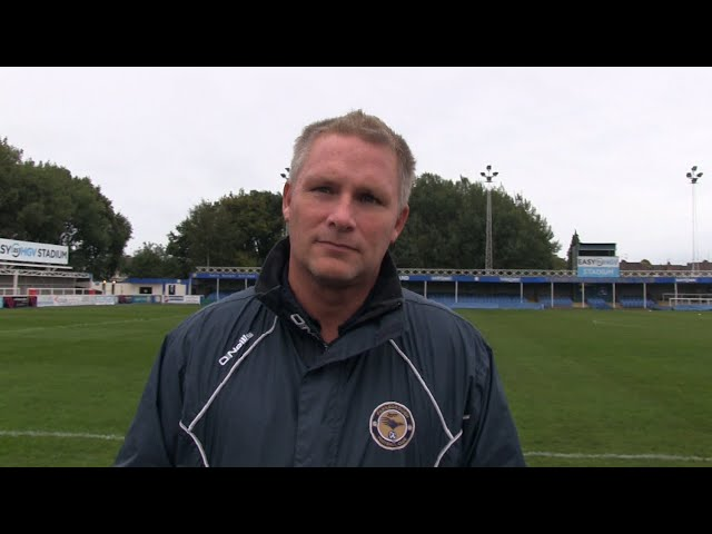 2020-09-30 | Farnborough vs Yate Town Spencer Day Pre-Match Interview