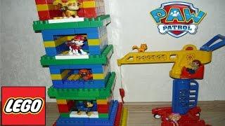 ✈ Мультик | Новая база  Ваня, Щенячий патруль (PAW PATROL) и бассейн |  Башня из #LEGO |лего бум