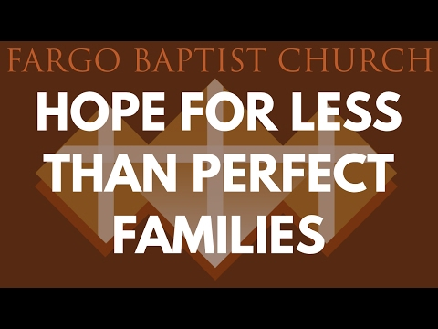 Mark Wagenshutz - Hope For Less Than Perfect Families