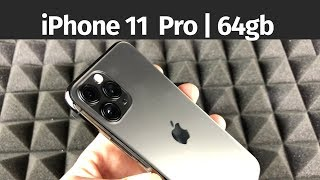 iPhone 11 Pro - 64gb Space Gray Unboxing