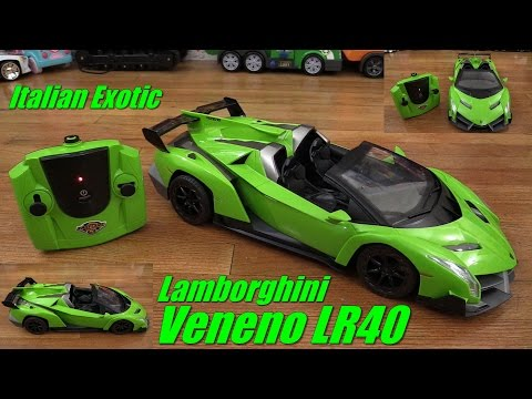 RC Toy Cars for Kids: Lamborghini Veneno LR40 Remote Control Toy Unboxing w/ Maya