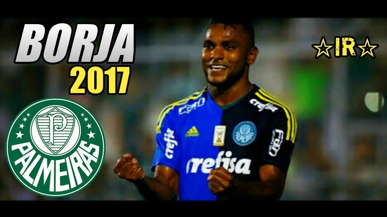 Miguel Borja ○ Goals Skills ○ Palmeiras ○ 2017 HD