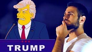 LES SIMPSON ont ils prévu l'élection de TRUMP?! Chronique Spéciale