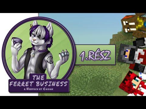 Minecraft - A Görény Meló - Egy új világ - 1.rész w/ IceBlueBird, Walrusz