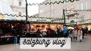 втроем в Зальцбурге: холодно, но красиво