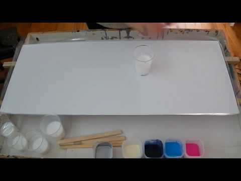 #9 Acrylic pour painting looking like resin