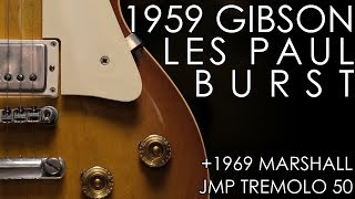 """""""Pick of the Day"""" - 1959 Gibson Les Paul Standard and 1969 Marshall JMP Tremolo 50"""
