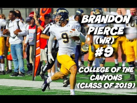 "Brandon ""Flash"" Pierce Official JUCO Highlights #9 