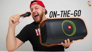 🎙 JBL Partybox On-The-Go Unboxing: To nedává žádný smysl! | WRTECH [4K]