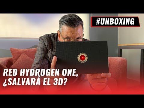#Unboxing: RED HYDROGEN ONE, el celular con pantalla holográfica