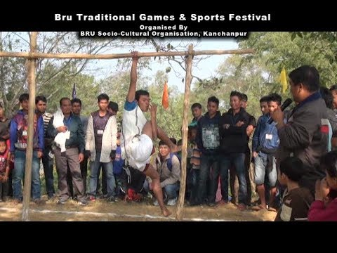 TRADITIONAL TRIBAL GAMES STILL EXIST IN BRU COMMUNITY.