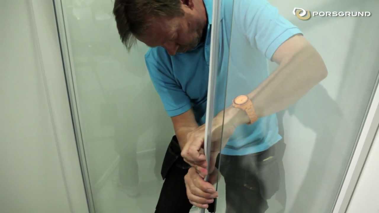 Montering av Porsgrund Showerama 8 5 dusjkabinett YouTube