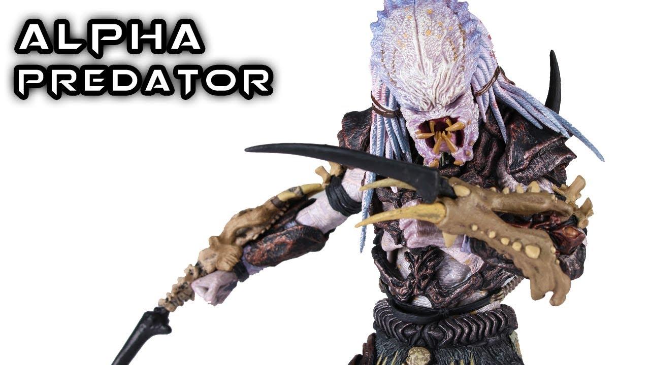 Neca Alpha Predator Action Figure Review Youtube