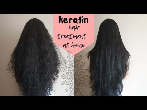 keratin treatment at home using only natural ingredients|2019