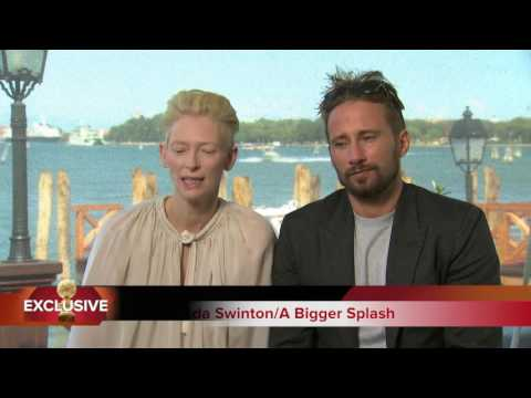 HFPA Interviews Tilda Swinton, Matthias Schoenaerts and Ralph Fiennes at the Venice Film Festival