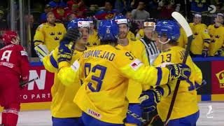 VM 2018 - Sverige vs Vitryssland 5-0