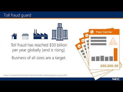 NEC SL2100 - Inguard Toll Fraud Protection - YouTube