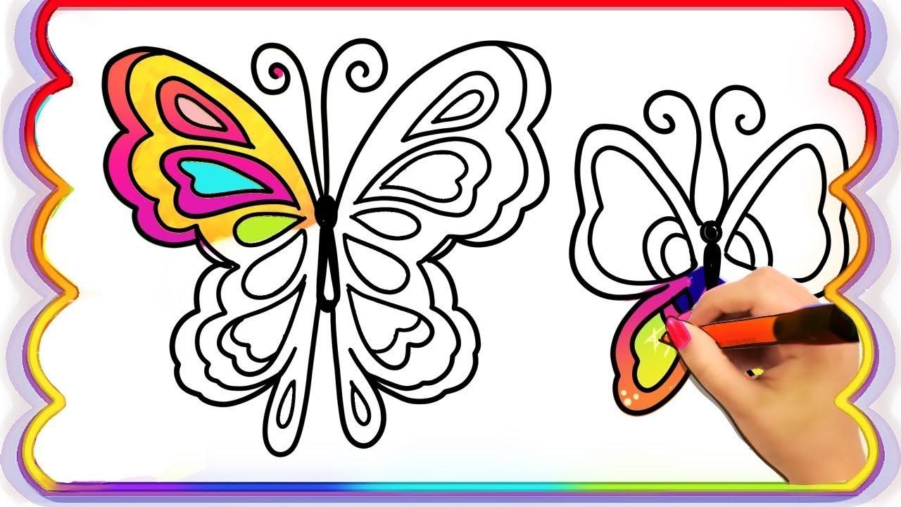 Desenhos Para Colorir Colorindo Desenhos Borboletas