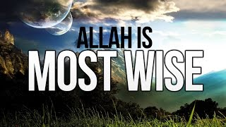 Allah Is Most Wise - A Reason Behind Everything!