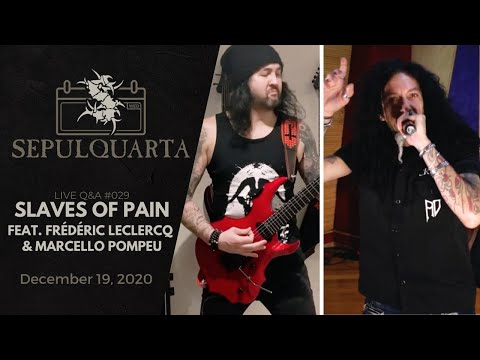 Смотреть клип Sepultura Ft. Frédéric Leclercq & Marcello Pompeu - Slaves Of Pain