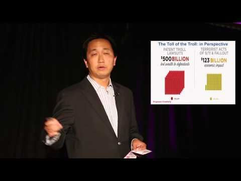 How To Slay A Patent Troll: Lee Cheng At TEDxSouthCapitolSt