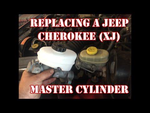 JEEP CHEROKEE (XJ) MASTER CYLINDER INSTALL