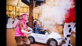 Анимация, шоу мыльных пузырей, бумажное шоу на детском празднике
