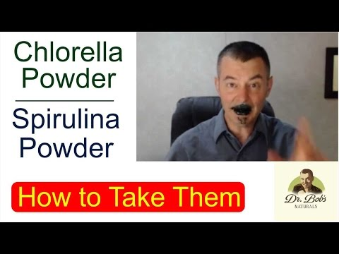 Chlorella Tablets vs. Chlorella Powder: How to Take Them