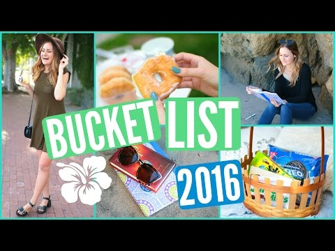 Summer Bucket List Ideas for Teens! 2016