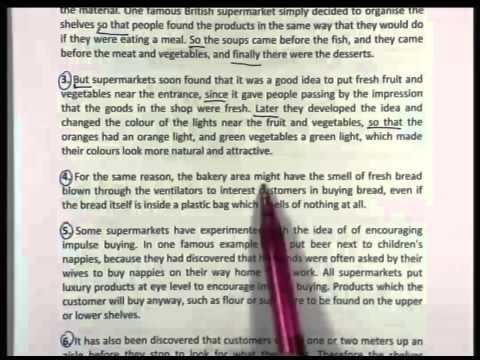 ปี 2556 วิชา ภาษาอังกฤษ ตอน วิเคราะห์ข้อสอบ (Reading Comprehension) ตอนที่ 4