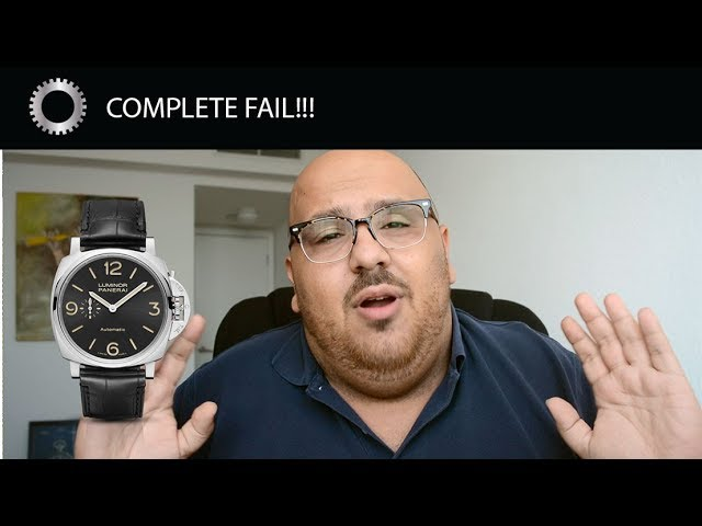 I CANT Believe Panerai Did This!!! The FALL of Panerai?