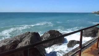 Крым. Алупка. Море. Июнь 2015 г.