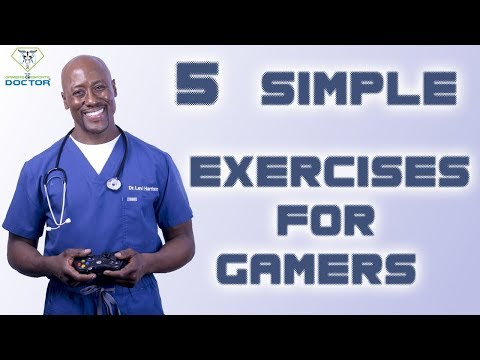 New Hand & Wrist Exercises for Gamers by Dr. Levi Harrison