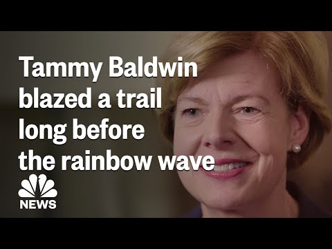 Tammy Baldwin Was Blazing A Trail Long Before The 'Rainbow Wave' | NBC News