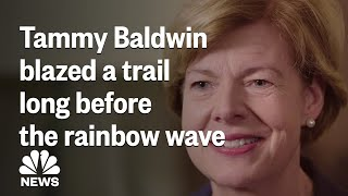 Tammy Baldwin Was Blazing A Trail Long Before The 'Rainbow Wave' | NBC News