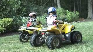 2006 Kids on Dirt Bikes & Four Wheelers