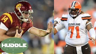 Sam Darnold Staying at USC to AVOID Playing for the Browns -The Huddle