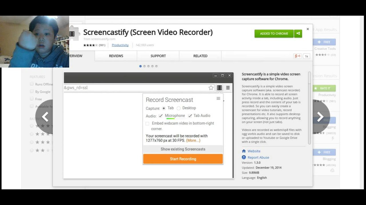 how to get a screen recorder for the acer chromebook (any chromebook )