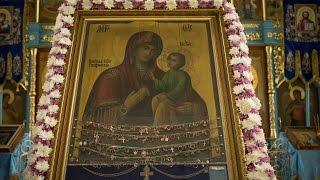 Соборная молитва под покровом Чадоподательницы