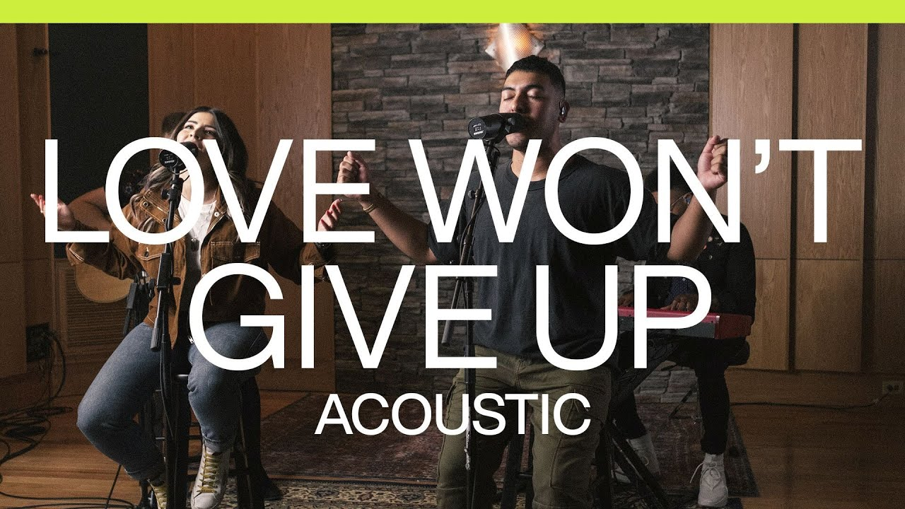 Love Won't Give Up | Acoustic | At Midnight | Elevation Worship