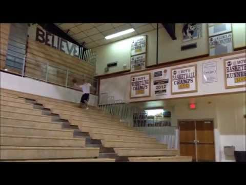 Trick Shots At Rigby High School