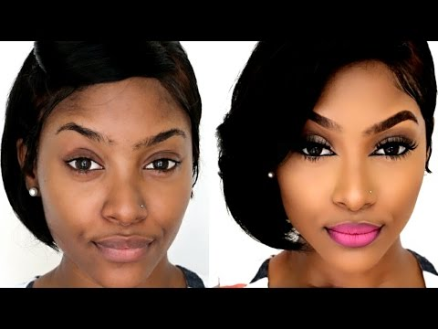 Easy Makeup for BEGINNERS | Affordable Makeup Brushes | Talk Through
