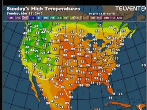 3-17-12 St. Paul, MN TPT Weather Radio (Record Heat) 8:03 am