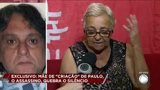 """""""Mãe de criação"""" de Paulo Cupertino fala com exclusividade"""