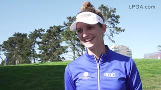 Anne van Dam talks about her opening 67 at the 2019 LPGA MEDIHEAL Championship