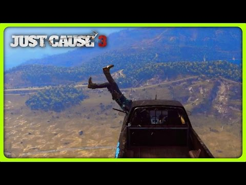 JUST CAUSE 3 FREE ROAM - WHEN STUNTS GO WRONG (Just Cause 3 Funny Moments)